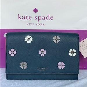 Kate Spade Cameron Spade Flower Appliqué Crossbody